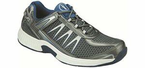 Orthofeet Men's Sprint - Heel Pain Orthopedic Shoe