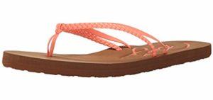 Roxy Women's Cabo - Comfortable Flip Flop
