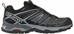 Salomon Men's Ultra 3 GTX - Hiking Shoe for Sweaty Feet