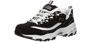 Skechers Women's D'Lites - Hip Pain Sneaker