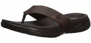 Skechers Men's On the Go - Casual Wear Memory Foam Sandals