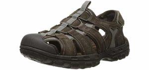 Skechers Men's Selmo - Memory Foam Toe Ring Sandals