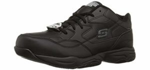Skechers Men's Felton - Slip resistant Work Shoes