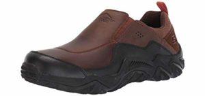 Skechers Men's Outline - Trail Specific Slip On Shoe