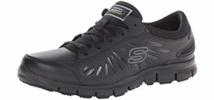 Skechers Women's Eldred - Slip resistant Work Shoes