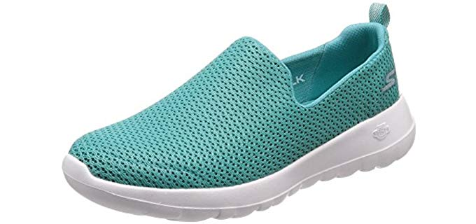 Skechers Women's Go Wal Joy - Low Arch Walking  Shoe