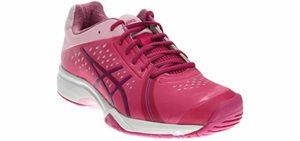 Asics Women's Gel Court Bella - Court Tennis Shoe for Flat Feet