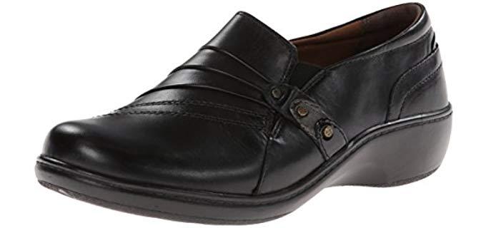 Aravon Women's Danielle - Hammertoe Flat Shoes
