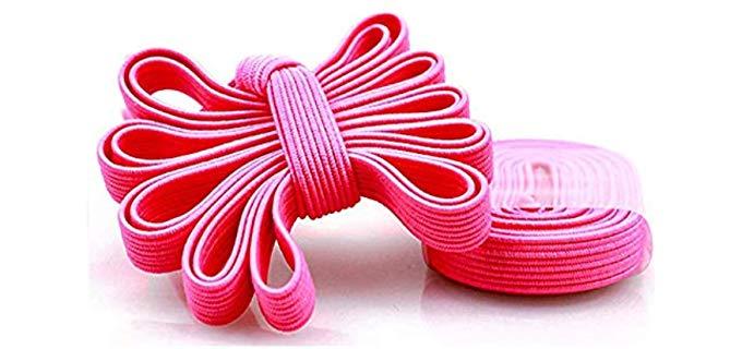 Expand Unisex No Tie - Elastic Replacement Shoe Laces