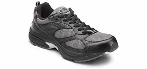Dr. Comfort Men's Endurance Plus - Walking Shoe for The Elderly