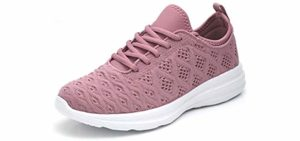 Joomra Women's Lightweight - Hip Pain Casual Sneaker