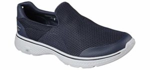 Skechers Men's Performance Go Walk 4 - Senior Slip-On Walking Shoe