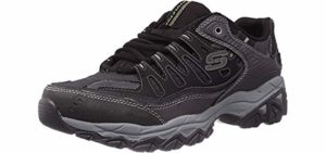 Skechers Men's Afterburn - Shoes for Wide and Flat Feet