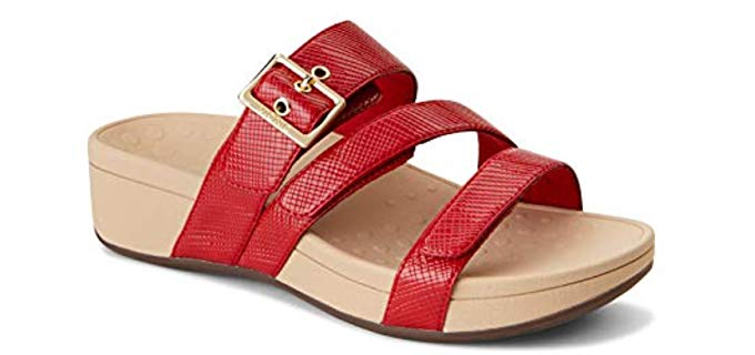 Vionic Women's Pacific Rio Platform - Hammertoe Accomodating Sandals