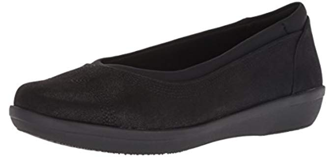 Clarks Women's Ayla - Teacher's Flat Shoe