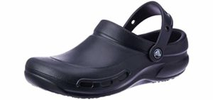 Crocs Men's Bistro - Wider Fit Clogs for Standing and Walking on Hard Surfaces