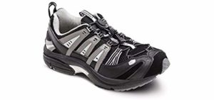 Dr. Comfort Men's Performance X - Plantar Fasciitis Therapeutic Walking Shoe