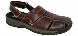 Drew Shoes Men's Barcelona - Orthopedic Arthritis Sandal