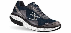 Gravity Defyer Men's Pain Relief - Plantar Fasciitis Walking Shoe