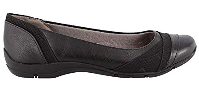 LifeStride Women's Dig Flat - Flats with Arch Support