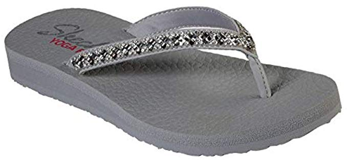 Skechers Women's Meditation Perfect - Rhinestone Sandal