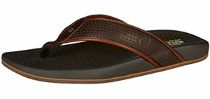 Skechers Men's Pelem Empiro - Skechers Memory Foam Sandals