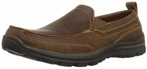 Skechers Men's Superior Gains - Plantar Fasciitis Loafer Shoes