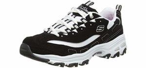 Skechers Women's D'Lites - Shoes for Flat Feet