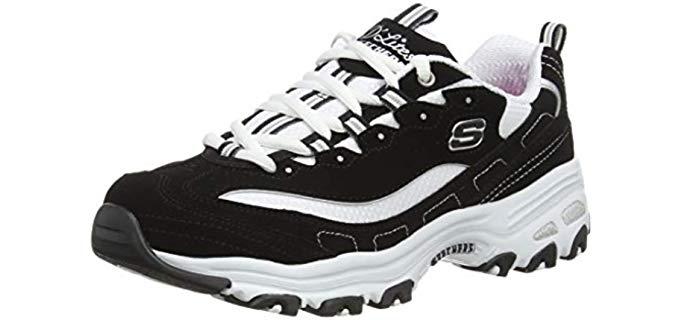 Skechers Women's D'Lites - Overweight Walking Shoe