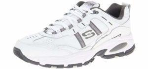Skechers Men's Vigor 2.0 Serpentine - Shoes for Flat Feet
