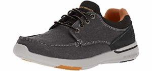 Skechers Men's Element Mosen - Boat Shoes for Flat Feet