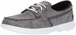 Skechers Women's Go Walk Lite - Boat Shoes for Flat Feet