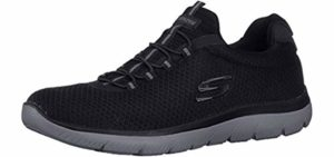 Skechers Men's Full Circle - Sneaker for Concrete Surface Walking