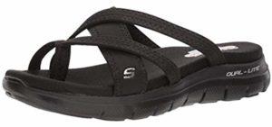 Skechers Women's Flex Appeal - Skechers Memory Foam Sandals