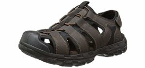 Skechers Men's Garver - Memory Foam Comfort Sandals