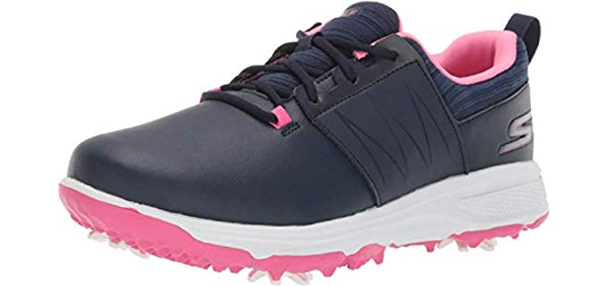 Skechers Girl's Finesse - Spiked Golf Shoes