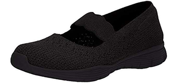 Skechers Women's Seager - Dress Shoes for Pregnant Women
