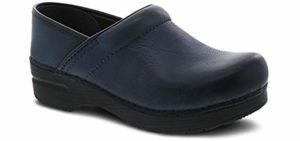 Dansko Women's Professional Clog - Rocker Bottom Design Work Shoe