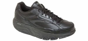 Excersteps Men's Whirlwind - Shoe with a Rocker Bottom