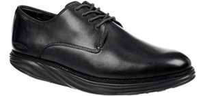 MBT Men's Boston - Rocker Bottom Dress Shoe