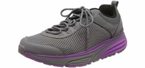 MBT Women's Colorado - Walking Shoes with a Rocker Bottom Design