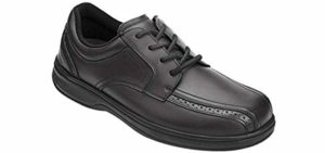 Orthofeet Men's Gramercy - Dress Shoes for Back Pain