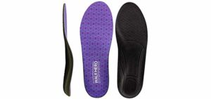 Walk Hero Women's Thin - Cushioned Insoles for Plantar Fasciitis