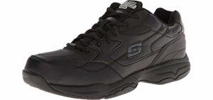 Skechers for Work Men's Felton - Shoe for Laboratory Work