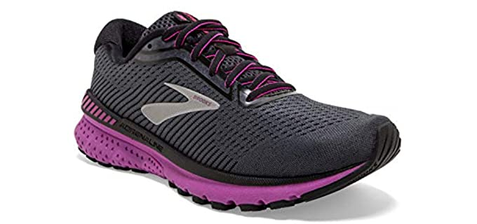 Brooks Women's Adrenaline GTS 20 - Women Over Fifty Running Shoes