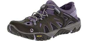 Merrell Women's All Out Blaze Sieve Sport - Vibram Sole Sandal