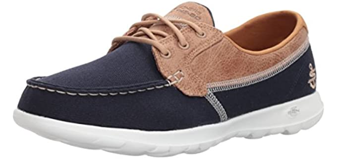 Skechers Women's Go Walk Lite - Cushioned Boat Shoe