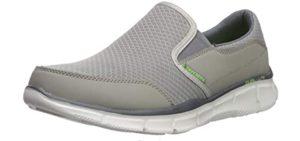 Skechers Men's Equalizer - Slip On Shoe for Arthritis