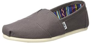 Toms Men's Classic - Slip On Shoe for No Socks