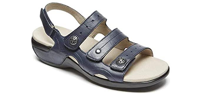 Aravon Women's Power Comfort - Comfort Sandal